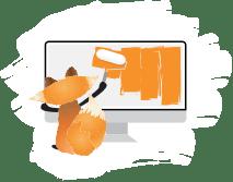 digital fox website design icon West Cork