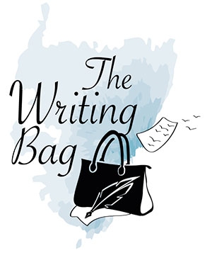 logo and website design for the writing bag castletownsend